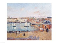 The Outer Harbour at Dieppe, 1902 by Camille Pissarro, 1902 - various sizes