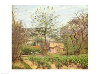 The Cottage by Camille Pissarro - various sizes - $15.99