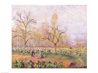 Orchard at Pontoise, 1878 by Camille Pissarro, 1878 - various sizes, FulcrumGallery.com brand
