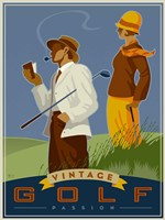 Vintage Golf - Passion by Si Huynh - various sizes