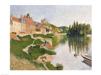The River Bank, Petit-Andely, 1886 Fine Art Print