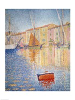 The Red Buoy, Saint Tropez, 1895 Fine Art Print