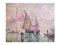 The Green Sail, Venice, 1904 Fine Art Print