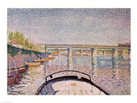 The Bridge at Asnieres, 1888 Fine Art Print