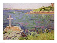 Saint-Briac, the Sailor's Cross, 1885 Fine Art Print