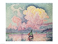Antibes, the Pink Cloud, 1916 Framed Print