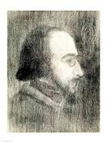Erik Satie Fine Art Print
