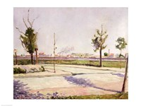 The Road to Gennevilliers, 1883 Fine Art Print