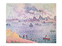 The Seine, Grenelle, 1899 Fine Art Print