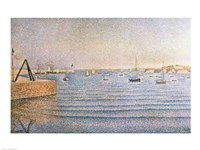 The Harbour at Portrieux, 1888 Fine Art Print