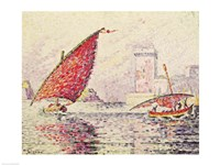 Fort Saint-Jean, Marseilles, 1907 Fine Art Print
