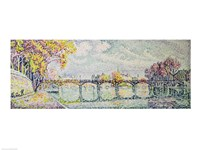 The Pont des Arts, 1928 Fine Art Print