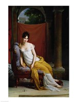 Portrait of Madame Recamier by Francois Gerard - various sizes