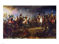 The Battle of Austerlitz Fine Art Print