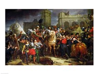 The Entry of Henri IV by Francois Gerard - various sizes