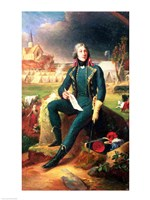Portrait of General Louis-Lazare Hoche by Francois Gerard - various sizes