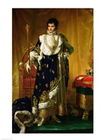 Portrait of Jerome Bonaparte by Francois Gerard - various sizes