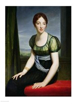 Portrait of Madame Regnault de Saint-Jean d'Angely by Francois Gerard - various sizes