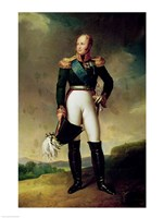 Portrait of Alexander I by Francois Gerard - various sizes