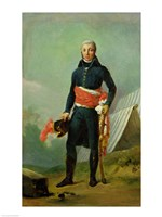 General Jean-Victor Moreau by Francois Gerard - various sizes