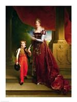 Marie Amelie de Bourbon by Francois Gerard - various sizes