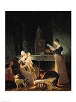 Reading the Letter Fine Art Print
