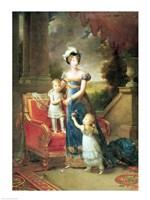 Marie-Caroline de Bourbon by Francois Gerard - various sizes - $16.49