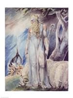 Moses and the Burning Bush Fine Art Print