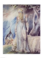 Moses and the Burning Bush Fine Art Print