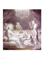 Christ in the House of Martha and Mary or The Penitent Magdalen Fine Art Print