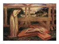 The Christ Child asleep on a Cross, c.1799-1800 Fine Art Print