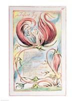 Songs of Innocence; Infant Joy, 1789 Fine Art Print