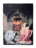 Europe a Prophecy; Famine, 1794 Fine Art Print