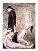 Europe a Prophecy; Plague, c.1794 Fine Art Print