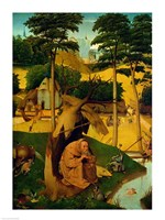 Temptation of St. Anthony, 1490 Fine Art Print