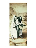 St. James the Greater, Exterior of Left Wing of Last Judgement Altarpiece by Hieronymus Bosch - various sizes - $16.49