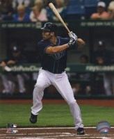 Johnny Damon 2011 Action Fine Art Print