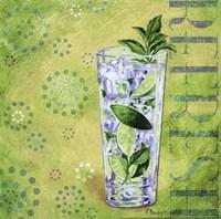 Calypso Cocktails III Framed Print
