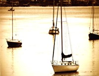 St. Augustine Harbor I - mini Fine Art Print