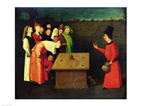 The Conjuror by Hieronymus Bosch - various sizes