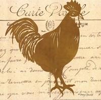 Tuscan Rooster I Framed Print
