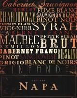 Napa Type Fine Art Print