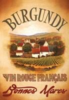 Burgundy Fine Art Print