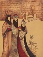 Three Wise Men Fine Art Print