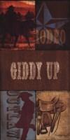 Giddy Up Framed Print