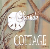 Seaside Cottage Fine Art Print