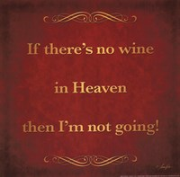 Wine in Heaven Fine Art Print