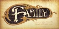 "Family by Smitty City - 16"" x 8"""