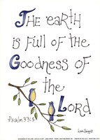 Goodness of the Lord Fine Art Print