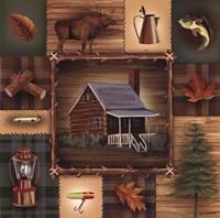 At the Cabin Fine Art Print